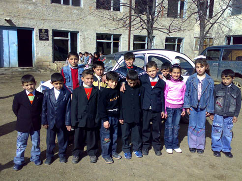 Pupils in Qashatakh.